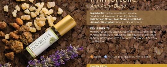IMMORTELLE – blend-ul anti-aging de la doTERRA