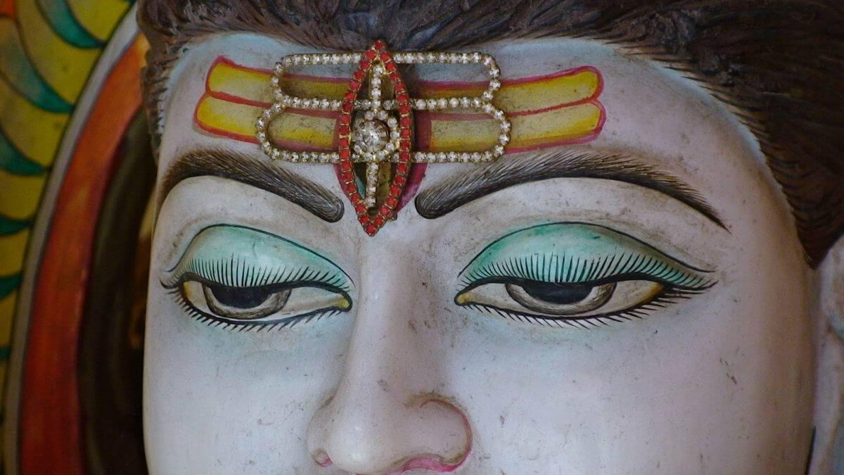 Shiva (al treilea ochi - Ajna chakra)