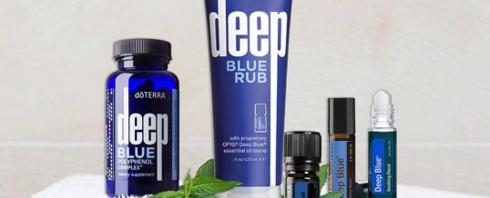 Gama DEEP BLUE doTERRA – Efect ANTIINFLAMATOR