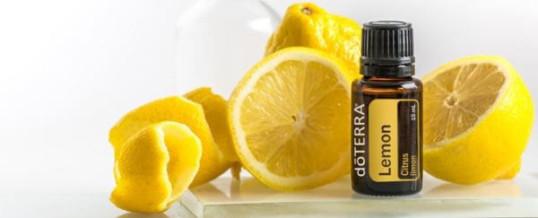 Uleiul esential de LAMAIE (Lemon) de la doTERRA