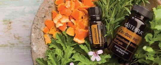 Blend-ul ZENDOCRINE de la doTERRA – Amestec de uleiuri esentiale pentru detoxifiere