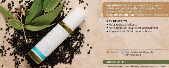 doTERRA HD CLEAR – amestec de uleiuri esentiale pentru curatarea tenului