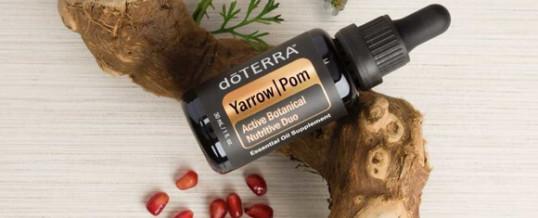 Blend-ul doTERRA YARROW POM (Coada soricelului + Rodie) – amestec de uleiuri esentiale