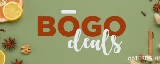 Super-Promotia BOGO de la doTERRA (Buy One Get One Free / Cumperi unul si primesti unul GRATUIT)