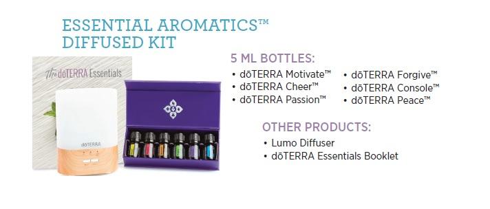 Essential Aromatics Diffused Kit