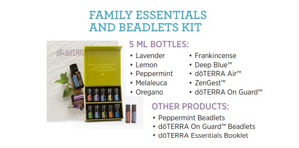 Family Essentials and Beadlets Kit