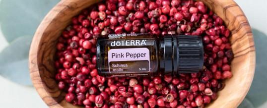 Uleiul esențial de Piper roz (Pink Pepper) doTERRA