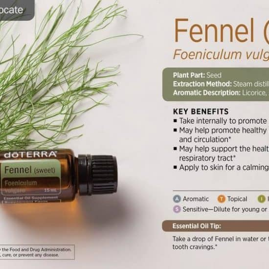 ulei esențial de Fenicul doTERRA (Fennel)